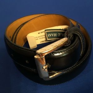 Cole Haan men's leather dress belt